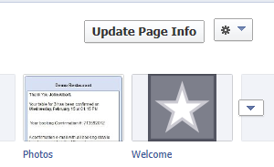facebook static html button